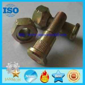 China Auto bolt&nut,Auto Hub bolt&nut,Auto Wheel bolt&nut,Nonstandard Bolt&nut,OEM Auto part,Zinc plated hub bolt and nut 10.9 wholesale