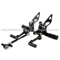China Custom Motorcycle Rear Sets / Aluminum Alloy Motorcycle Foot Pegs on sale