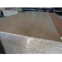 China Smoked Surface Melamine Laminated Block Board For House Cabinets High Strength wholesale