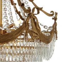 Spray paint brass chandelier Lighting Fixtures Project Hotel (WH-CP-31)