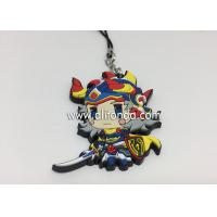China Anime rubber pendants custom cartoon figures phone pendants supply for promotional gifts wholesale