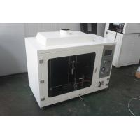 China Computerized Vertical Combustion Testing Equipment With 50w Burner wholesale