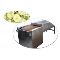 China Stainless Steel Microwave Drying Machine , Food Sterilizer Machine With Heating Fast wholesale