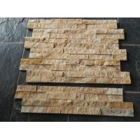 China Sandstone Crude stacked stone wall cladding for exterior wholesale