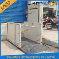 China 1m - 12m Hydraulic Stair Wheelchair Platform Lift For The Old People With CE wholesale