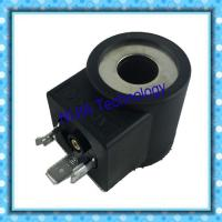China DIN43650 Hydraulic Solenoid Coil Tube Φ13 High 37.7mm 20.5W Electric Circuits DC12V DC24V wholesale