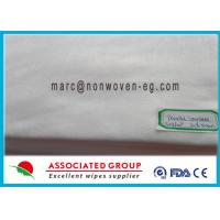 China Anti Static Spunlace Non Woven Fabric Cloth Wet Wipes Fire Retardant wholesale