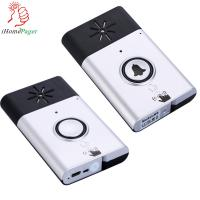 China silver/gold color talk function wireless door bell wholesale