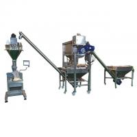 China Coffee Scrub Semi Automatic Powder Filling Machine With Load Cell 3 Phase on sale