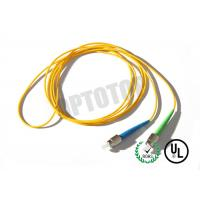 China 1F 1.6MM Custom Fc Fiber Patch Cord OS2 With Yellow Jacket , 85447000 HS Code on sale