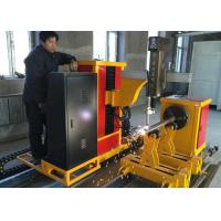 China Hypertherm CNC Pipe Cutting Machine With 6000mm Effective Cutting Length wholesale