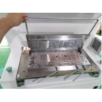 China CE Number Plate Embossing Machine , Number Plate Making Machine For 520mm Length wholesale