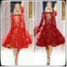 China Zuhair Murad A Line Plus Size Cocktail Party Dresses Lace , Short Celebrity Gowns wholesale