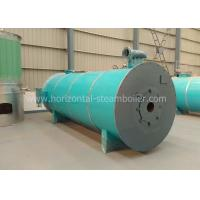 China 1.25-3.5MW Thermic Fluid Boiler , Textile Mill Horizontal Gas Thermal Boiler wholesale