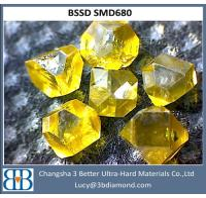 China Hunan factory Synthetic polishing uncut raw uncut diamond wholesale