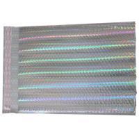 China Luxury Holographic Mailing Bags , #000 / 4x8 Shiny Color Padded Packing Envelopes wholesale
