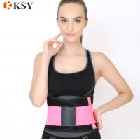 China Factory price and high quality adjustable custom waist trimmer slimming belt wholesale