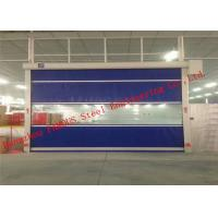 China Automatic Steel Industrial Garage Doors Lifting Up Roller Shutter Door PVC Surface wholesale