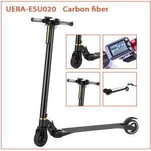 China Carbon Fiber Folding Motorized Scooter 5 Inch Smart Self Balancing Battery Powered wholesale