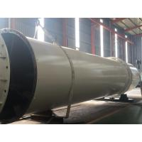 Quality Biomass Wood Chips Rotary Drum Dryer , Horizontal Industry Rotary Drying Line for sale