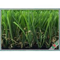 China Durable Save Water Outdoor Artificial Grass / Artificial Turf ISO SGS Approval wholesale