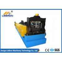 China Shaft Dia 90mm Cable Tray Making Machine PLC And Converter Controlling System on sale