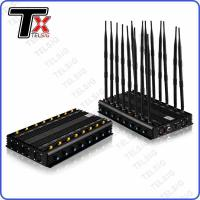 China Omni Directional High Power Mobile Phone Jammer 16 Bands Multi Use Powerful on sale