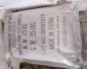 China 98% Min Purity Manganese Sulfate Powder Used For Electrolytic Production wholesale