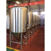 China Beer fermentation tank jacketed conical fermenter beer brewing equipment for pub/restaurant/beer bar on sale