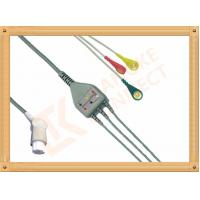 China Gray SW Artema ECG Patient Cable 3 Leads Snap IEC durability wholesale