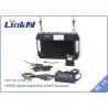 China Mobile UAV Video Wireless Transmitter Qpsk Modulation DC 12V CE wholesale