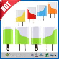 China Travel Wall Universal USB Power Adapter Battery For Iphone / Andorid Smartphones wholesale