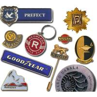 China Embroidery Metal Badge wholesale