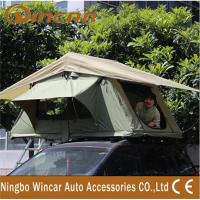 3 - 4 Person Canvas Sand outdoor camping Aluminum pole soft roof top campers