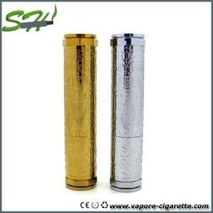China Floral King Clone Mechanical Mod E Cig 2200mah Huge Vapor Stainless / Brass on sale