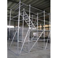 China Shoring Frame Systems. Galvanized space frame scaffolding wholesale