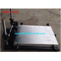 China Desktop Solder Paste Printing Machine , 1.2M Manual Solder Paste Printer wholesale