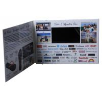 China Multi - Size LCD Video Mailer Support JPG / JPEG / GIF Picture Format wholesale