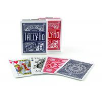 China Tally-Ho Marked Playing Cards Plastic Invisible Ink Poker Cheating Cards wholesale