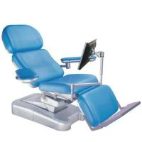 China Anti Rust Steel Folding Medical Blood Donor Chair For Hospital Patient on sale