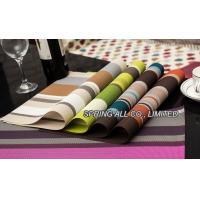 China Textilene  placemats, palcemat for banquet,hotel placemat wholesale