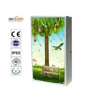 China Business Stand Alone Outdoor LCD Advertising Display , Standing Advertising Display wholesale
