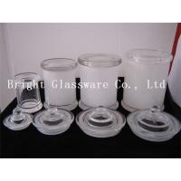 China Wholesale glass jars for candles in stock wholesale