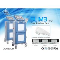 China 1000W Power Equipment HIFU Ultrasound Machine Face Lifting wirnkle removal with 1.5mm & 3.0mm & 4.5mm wholesale