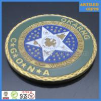 Camp Gruber Training Site Command Great Seal of The State of Oklahoma coin 4