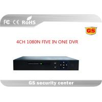Buy cheap Five In One 4ch 1080p Cctv Hd Dvr / Cctv Video Recorder With 3520d V200+6134c , Unreal Time from wholesalers