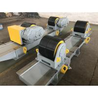 China 80 Ton Wind Tower welding Turning Rolls With 800 ~ 5000 mm Vessels Diameter Range wholesale