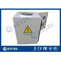 Buy cheap Anti - Corrosion Pole Mounted Cabinet With Shaped Hole Full Protection from wholesalers