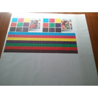 China Water Resistant Matte Surface Cold Lamination Film With White Liner on sale