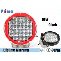 China High Intensity 6000k LED Driving Light For 4 X 4 SUV 4WD Truck 9 Inch 96W Work Light wholesale
